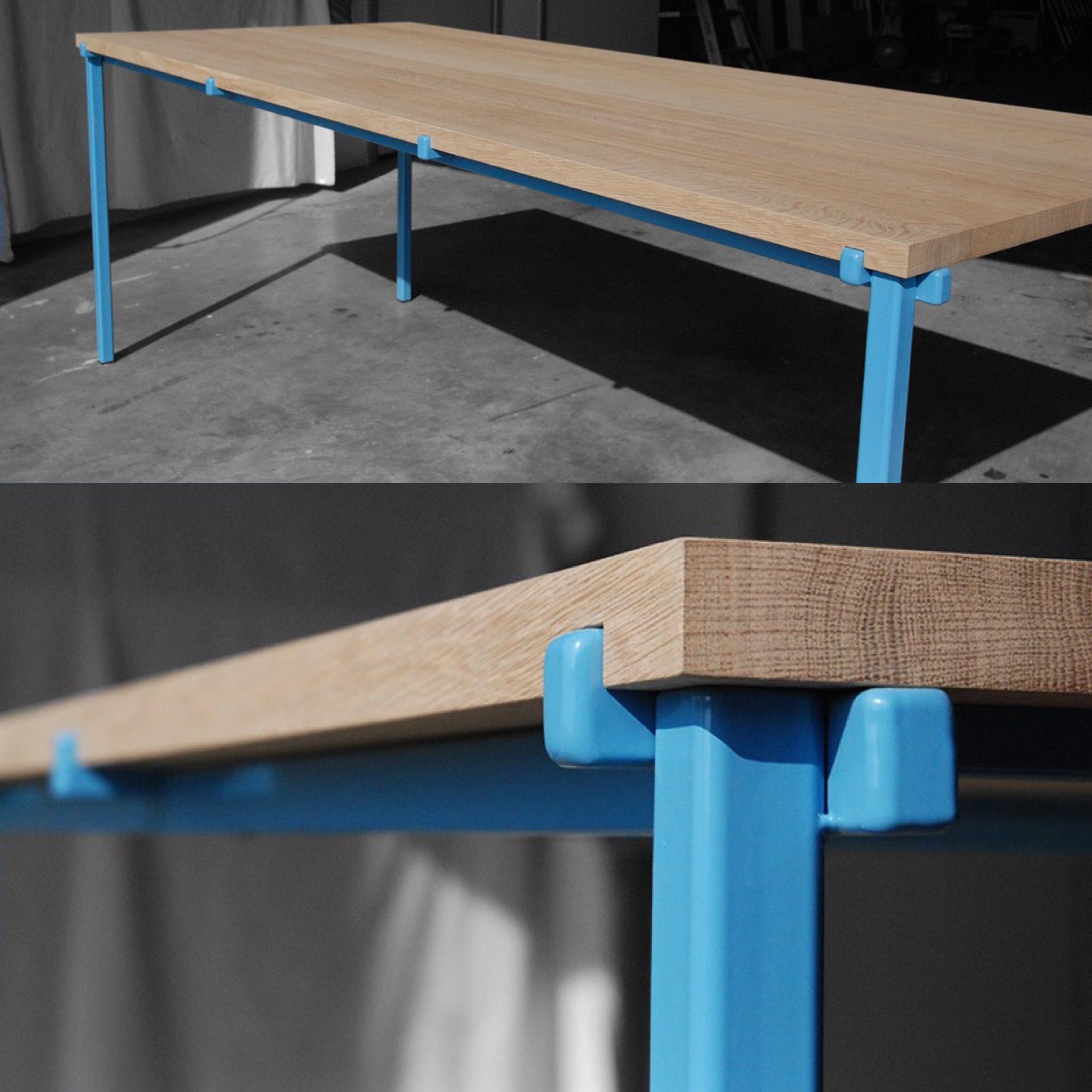 Tafel blauw
